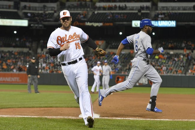 Kansas City Royals vs. Baltimore Orioles - 4/22/16 MLB Pick, Odds, and Prediction