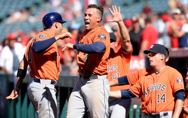 Houston Astros vs. Los Angeles Angels - 9/21/15 MLB Pick, Odds, and Prediction