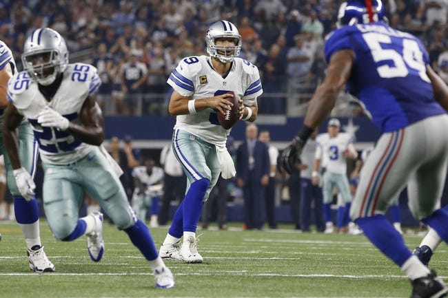 New York Giants vs. Dallas Cowboys - 10/25/15 NFL Pick, Odds, and Prediction