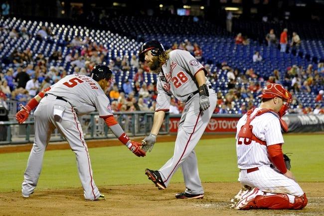 Philadelphia Phillies vs. Washington Nationals - 9/15/15 MLB Pick, Odds, and Prediction