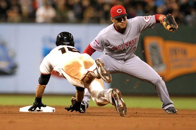 San Francisco Giants vs. Cincinnati Reds - 9/15/15 MLB Pick, Odds, and Prediction