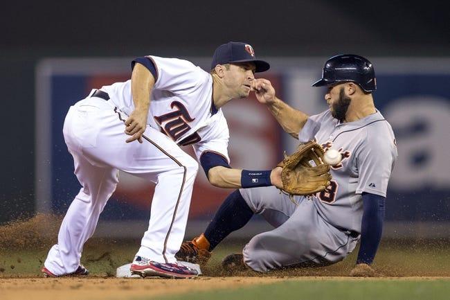 Minnesota Twins vs. Detroit Tigers - 9/16/15 MLB Pick, Odds, and Prediction