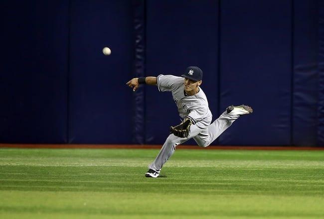 Tampa Bay Rays vs. New York Yankees - 9/16/15 MLB Pick, Odds, and Prediction