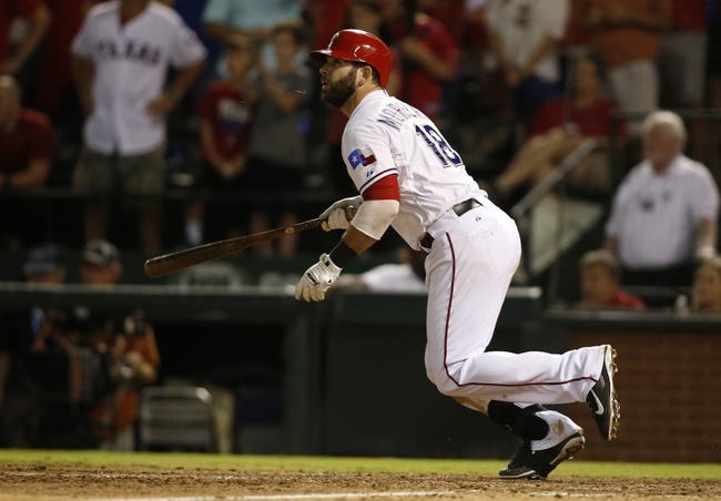 Texas Rangers vs. Houston Astros - 9/16/15 MLB Pick, Odds, and Prediction