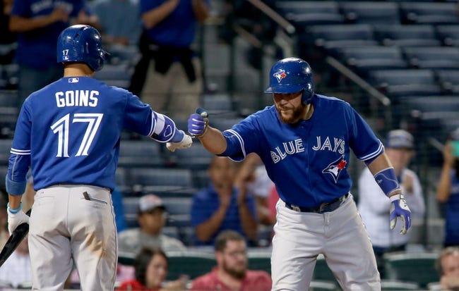 Atlanta Braves vs. Toronto Blue Jays - 9/17/15 MLB Pick, Odds, and Prediction
