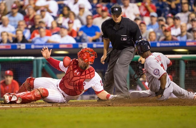 Nationals vs. Phillies - 9/25/15 MLB Pick, Odds, and Prediction