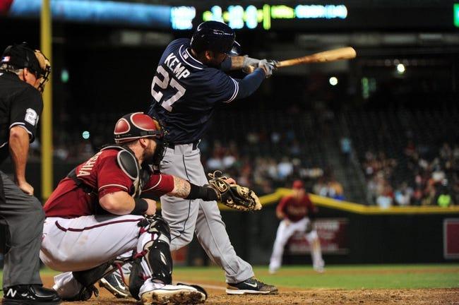San Diego Padres vs. Arizona Diamondbacks - 9/26/15 MLB Pick, Odds, and Prediction