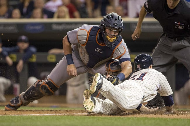 Detroit Tigers vs. Minnesota Twins - 9/25/15 MLB Pick, Odds, and Prediction