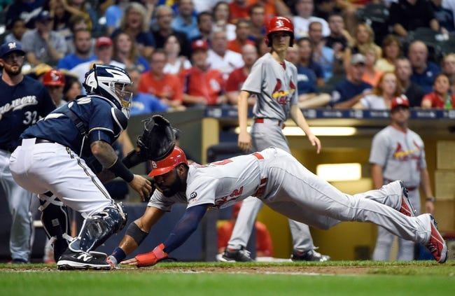 Cardinals vs. Brewers - 9/24/15 MLB Pick, Odds, and Prediction
