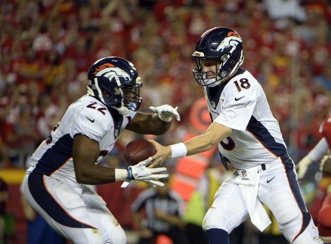 Denver Broncos at Detroit Lions- 9/27/15 NFL Pick, Odds, and Prediction