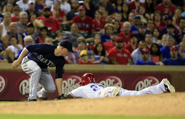 Texas Rangers vs. Seattle Mariners - 9/20/15 MLB Pick, Odds, and Prediction
