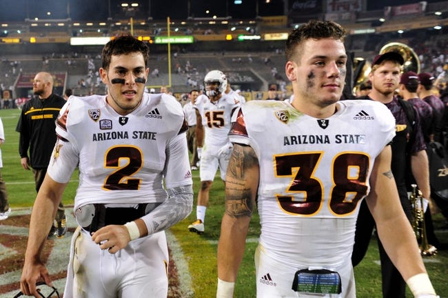 USC at Arizona State - 9/26/15 College Football Pick, Odds, and Prediction