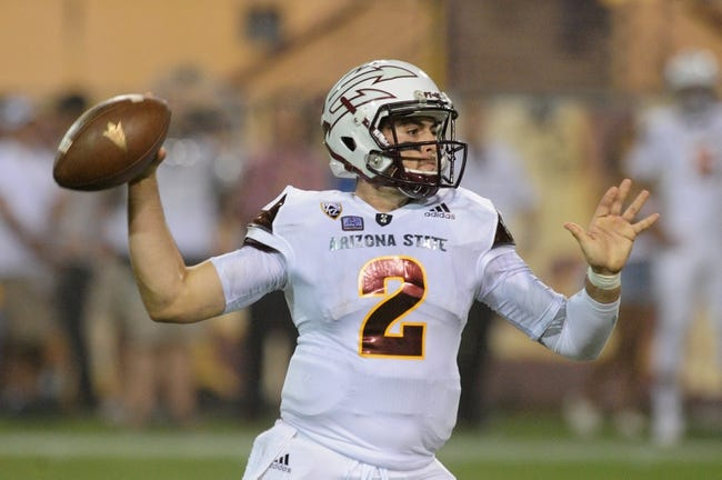 Arizona State Sun Devils vs. Colorado Buffaloes - 10/10/15 College Football Pick, Odds, and Prediction