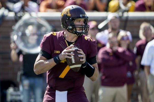 Minnesota vs. Ohio - 9/26/15 College Football Pick, Odds, and Prediction