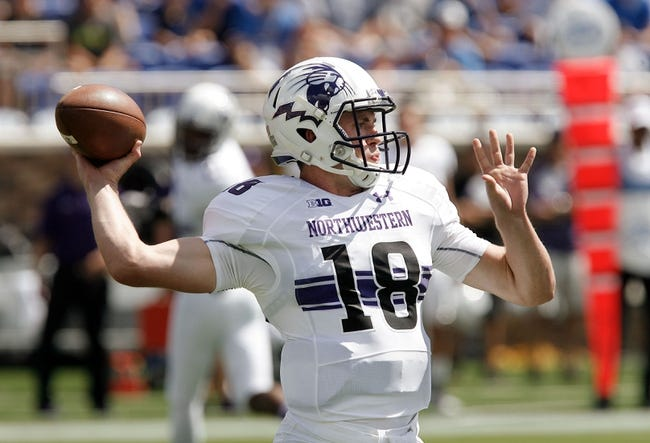 Northwestern vs. Ball State - 9/26/15 College Football Pick, Odds, and Prediction