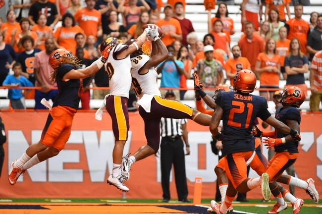Syracuse vs. Central Michigan - 9/16/17 College Football Pick, Odds, and Prediction