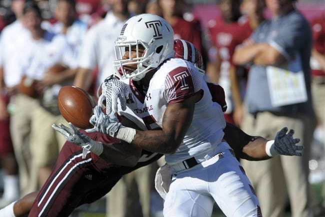 Charlotte 49ers vs. Temple Owls - 10/2/15 College Football Pick, Odds, and Prediction