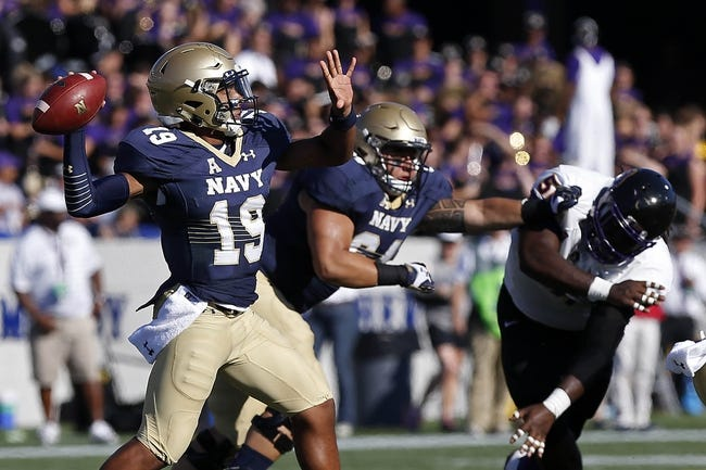Connecticut Huskies vs. Navy Midshipmen - 9/26/15 College Football Pick, Odds, and Prediction