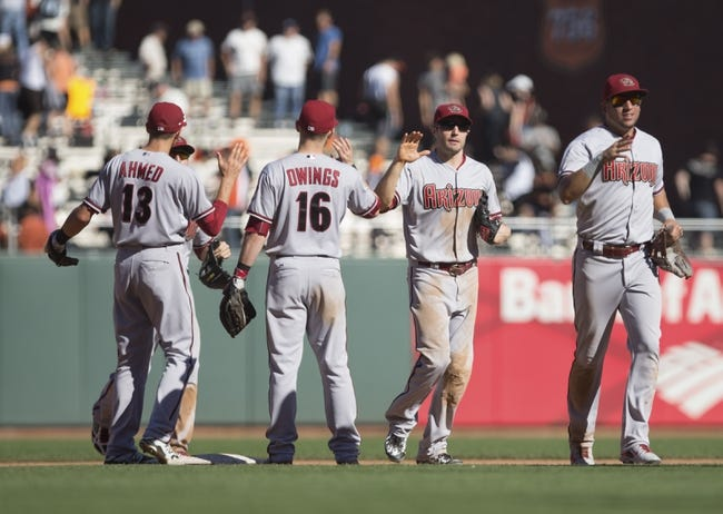 Giants vs. Diamondbacks - 9/20/15 MLB Pick, Odds, and Prediction