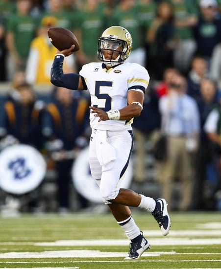 Georgia Tech Yellow Jackets vs. North Carolina Tar Heels - 10/3/15 College Football Pick, Odds, and Prediction