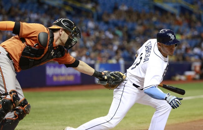 Tampa Bay Rays vs. Baltimore Orioles - 9/20/15 MLB Pick, Odds, and Prediction