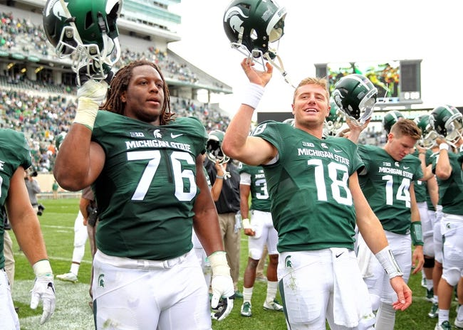 Michigan State vs. Central Michigan - 9/26/15 College Football Pick, Odds, and Prediction