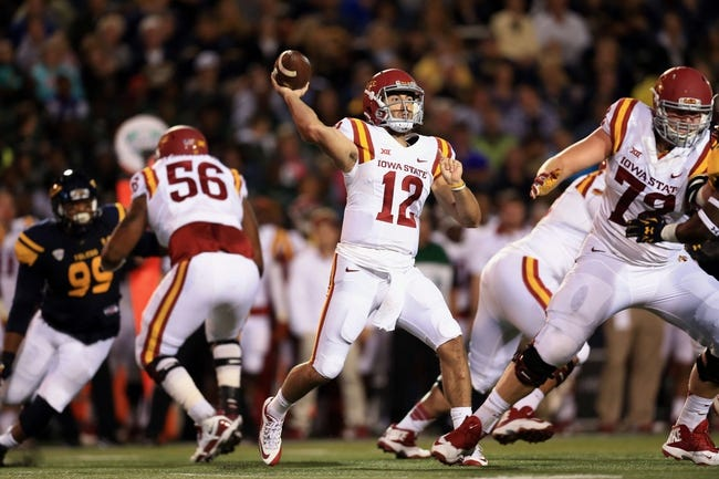Iowa State Cyclones vs. Texas Tech Red Raiders - 10/10/15 College Football Pick, Odds, and Prediction