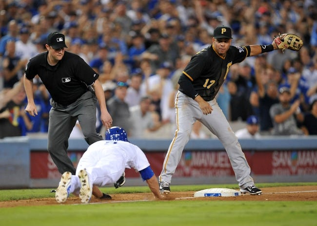 Los Angeles Dodgers vs. Pittsburgh Pirates - 9/20/15 MLB Pick, Odds, and Prediction