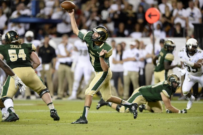 UTSA Roadrunners vs. Colorado State Rams - 9/26/15 College Football Pick, Odds, and Prediction