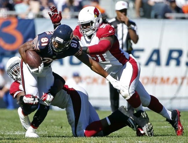 Chicago Bears at Arizona Cardinals - 8/19/17 NFL Pick, Odds, and Prediction