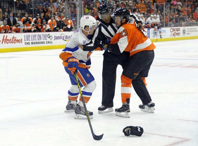 New York Islanders vs. Philadelphia Flyers - 11/25/15 NHL Pick, Odds, and Prediction