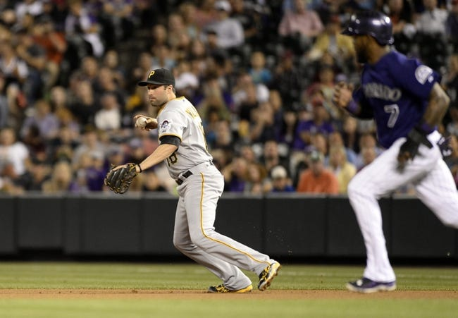 Colorado Rockies vs. Pittsburgh Pirates - 9/22/15 MLB Pick, Odds, and Prediction