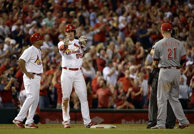 St. Louis Cardinals vs. Cincinnati Reds - 9/22/15 MLB Pick, Odds, and Prediction