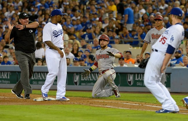 Los Angeles Dodgers vs. Arizona Diamondbacks - 9/22/15 MLB Pick, Odds, and Prediction