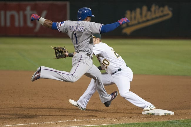 Oakland Athletics vs. Texas Rangers - 9/23/15 MLB Pick, Odds, and Prediction