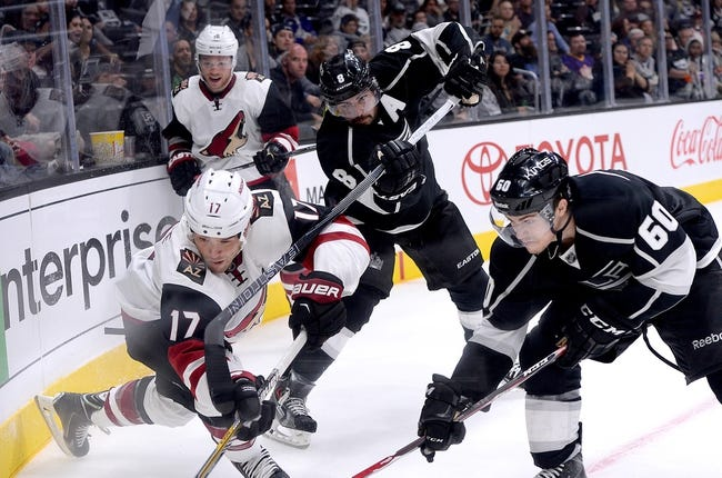 Coyotes at Kings - 10/9/15 NHL Pick, Odds, and Prediction