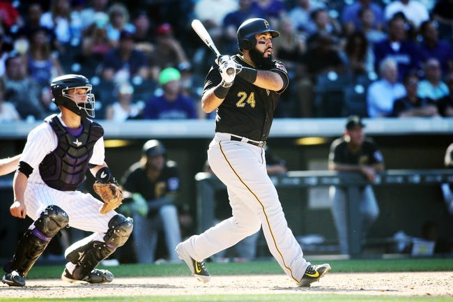 Colorado Rockies vs. Pittsburgh Pirates - 4/26/16 MLB Pick, Odds, and Prediction