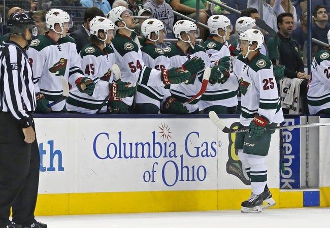 Minnesota Wild vs. Columbus Blue Jackets - 10/22/15 NHL Pick, Odds, and Prediction