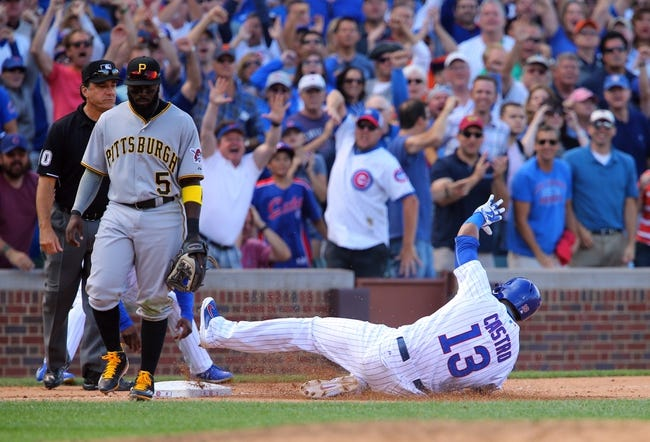 Chicago Cubs vs. Pittsburgh Pirates - 9/26/15 MLB Pick, Odds, and Prediction