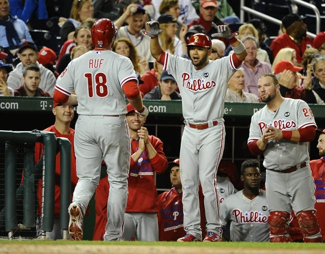 Nationals vs. Phillies - 9/26/15 MLB Pick, Odds, and Prediction