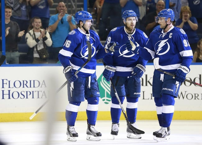 Tampa Bay Lightning vs. Philadelphia Flyers - 10/8/15 NHL Pick, Odds, and Prediction