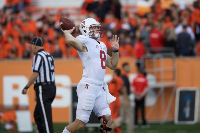 Arizona at Stanford - 10/3/15 College Football Pick, Odds, and Prediction