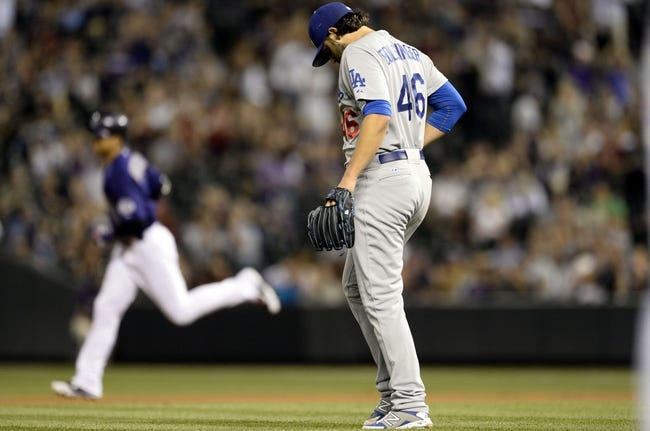 Colorado Rockies vs. Los Angeles Dodgers - 9/26/15 MLB Pick, Odds, and Prediction