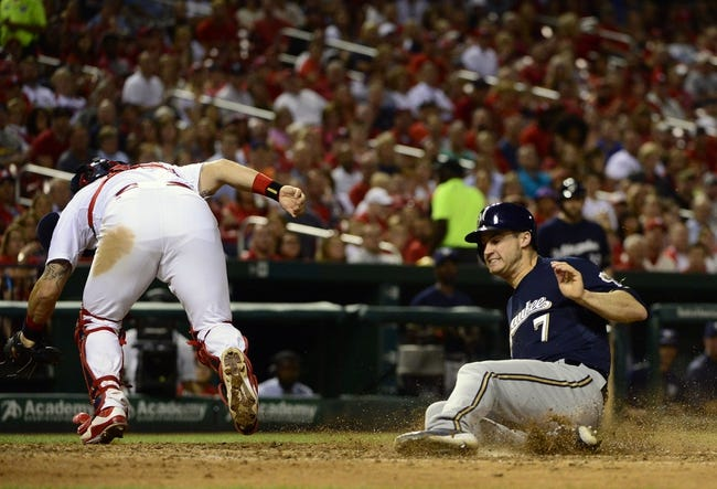 St. Louis Cardinals vs. Milwaukee Brewers - 9/26/15 MLB Pick, Odds, and Prediction