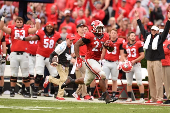 Georgia vs. Alabama - 10/3/15 College Football Pick, Odds, and Prediction
