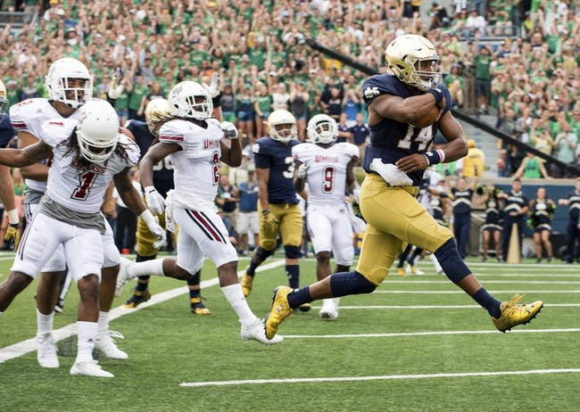 Southern Cal Trojans at Notre Dame Fighting Irish - 10/17/15 College Football Pick, Odds, and Prediction