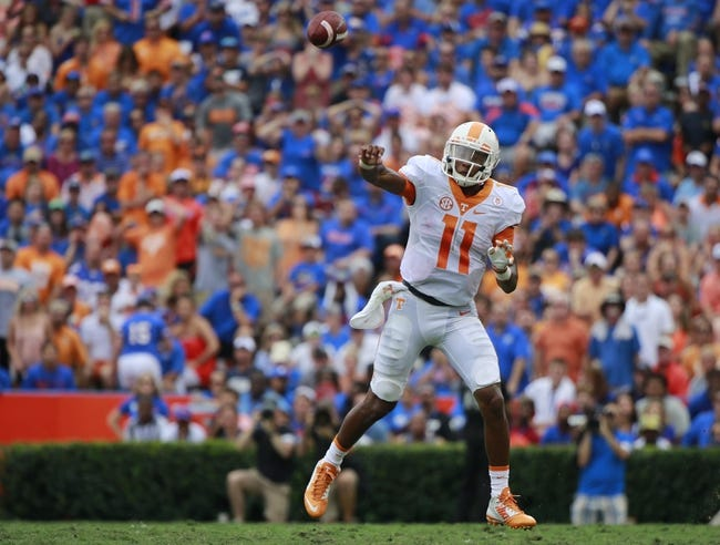 Arkansas at Tennessee - 10/3/15 College Football Pick, Odds, and Prediction