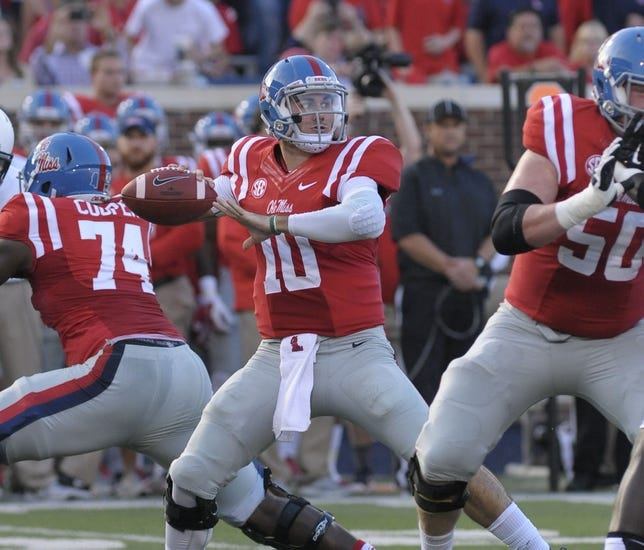 Ole Miss vs. New Mexico State - 10/10/15 College Football Pick, Odds, and Prediction