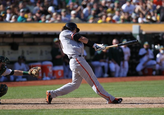 Oakland Athletics vs. San Francisco Giants - 9/27/15 MLB Pick, Odds, and Prediction
