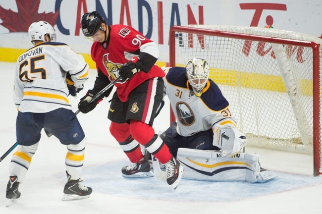 Buffalo Sabres vs. Ottawa Senators - 10/8/15 NHL Pick, Odds, and Prediction